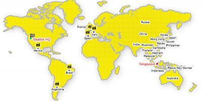 Hong Kong Carte Du Monde.Hong Kong Carte Cartes De Hong Kong Chine